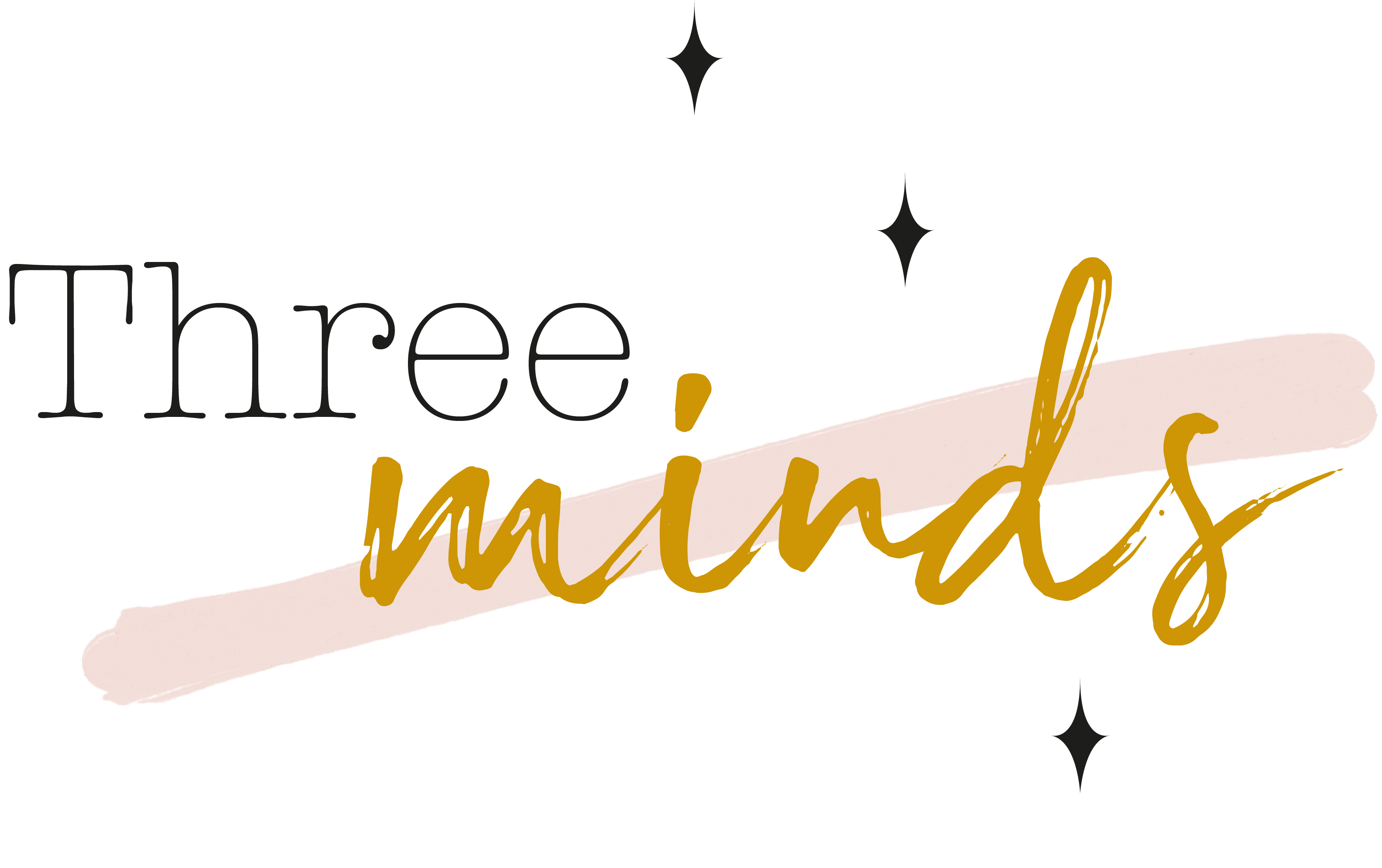 logo threeminds blog lifestyle